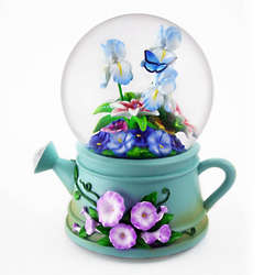 3D Watering Can Water Globe
