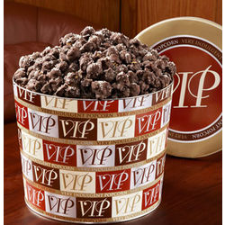 Dark Chocolate Sea Salt Popcorn Tin