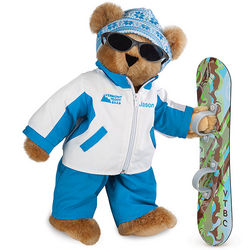 Half Pipe 15 Inch Teddy Bear