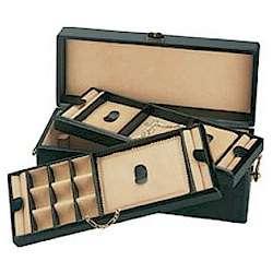 Large Calf Skin Jewelry Box