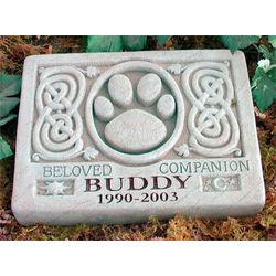 Celtic Pet Memorial Garden Stone