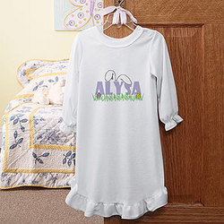 Ears To You Easter Girls Nightgown