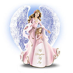 My Daughter My Joy Musical Angel Figurine