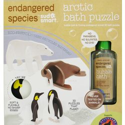 Endangered Species Bath Puzzle with Artic Bubble Bath