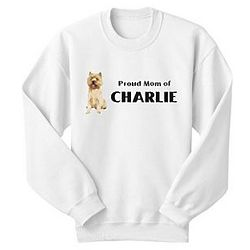 Personalized 3XL Dog Breed Sweatshirt