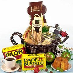 Pilon & Bustelo Cuban Cafecito Gift Basket