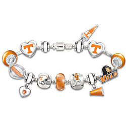 Tennessee Volunteers #1 Fan Charm Bracelet