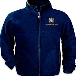 Salute the Navy Men's Fleece Jacket