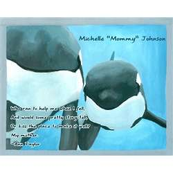 Marine Moments Personalized Art Print