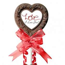 I Love You Valentine Day Lollipop