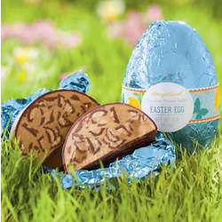 Chocolate Peanut Butter Easter Egg