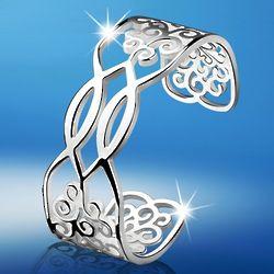 Silver-Plated Kells Bracelet