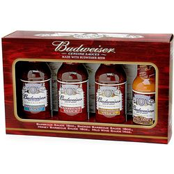 Budweiser BBQ Sauce and Marinade Gift Set