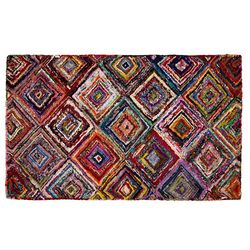 Handcrafted Recycled Sari Area Rug