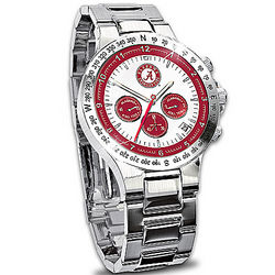 Alabama Crimson Tide Commemorative Chronograph Watch