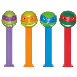 12 Teenage Mutant Ninja Turtles Pez Dispensers