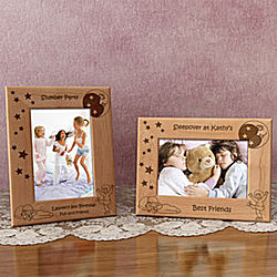 Personalized Sleepover Wooden Picture Frame
