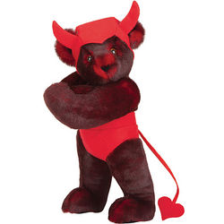 "15"" Horny Devil Teddy Bear"