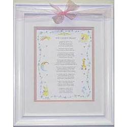 Chosen Heart Adoption Framed Poem