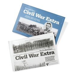 Civil War Extra Commemorative Newspaper