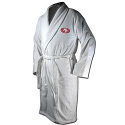 San Francisco 49ers Terrycloth Logo Bathrobe