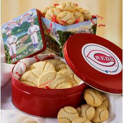Cincinnati Reds Double Header Cookie Gift Tower