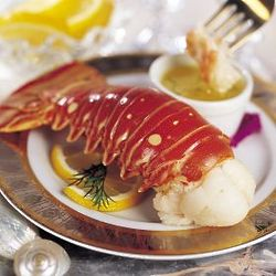 Four 6 oz. Warm Water Lobster Tails