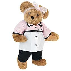 """15"""" Retro Lady Teddy Bear"""