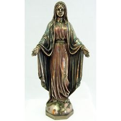 Bronze Our Lady of Grace Statue