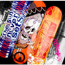 Custom Skateboard with Graphics