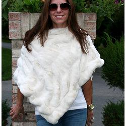 Luxury Faux Fur Poncho