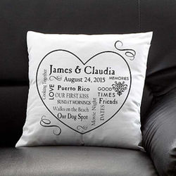 Our Life Together Personalized Pillow