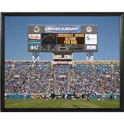 Jacksonville Jaguars Personalized Scoreboard 16x20 Framed Canvas