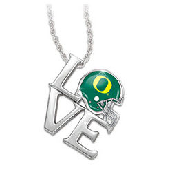 University of Oregon Ducks Pendant Necklace