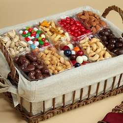 Sweet and Savory Gourmet Snack Gift Basket