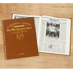 Personalized Washington Post Chicago Bears Book