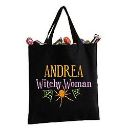 Personalized Witchy Woman Tote