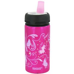 Kid's Fairies and Butterflies Aluminum Active Top Water Bottle