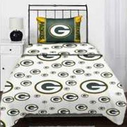 Green Bay Packers Twin Sheet Set