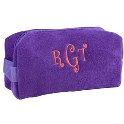 Personalized Purple Small Cosmetic Bag