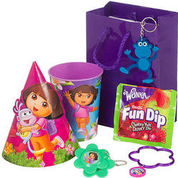 Dora the Explorer Favor Pack