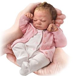 Tiny Miracles Emmy Lifelike Baby Girl Doll