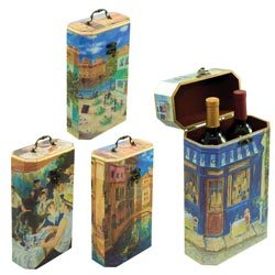 Artist 2 Bottle Wine Boxes