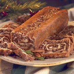 Caramel Pecan Swirl Pastry
