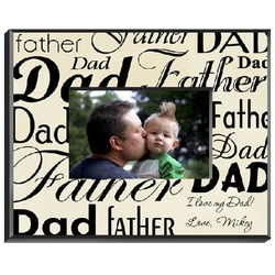 Personalized Dad-Father Picture Frame