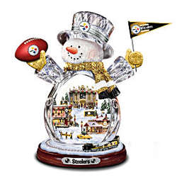 NFL Pittsburgh Steelers Superbowl Champions Snowmen Figurine