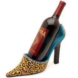 Leopard Couture Wine Bottle Holder