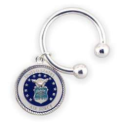 Engravable Air Force Key Chain