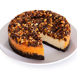 6 Inch Turtle Cheesecake