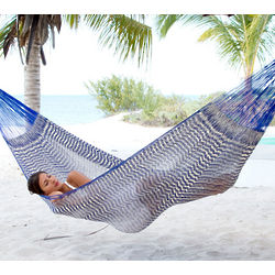 Ocean Waves Cotton Hammock